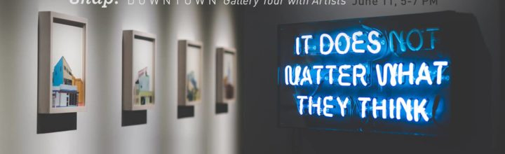 Gallery Tour with Artists- Snap Downtown Orlando