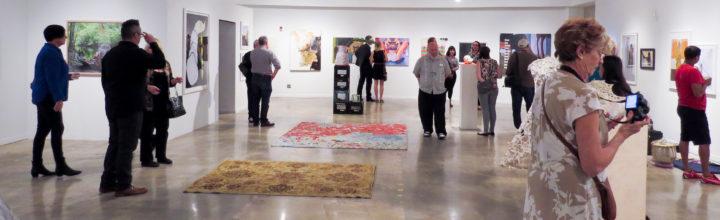 Installation images- 8th All-Media Juried Biennial